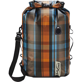 SealLine Discovery Dry Bag 50L, olive plaid